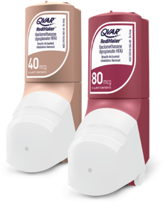 QVAR Redihaler 80 MCG and QVAR Redihaler 40 MCG maintenance inhalers